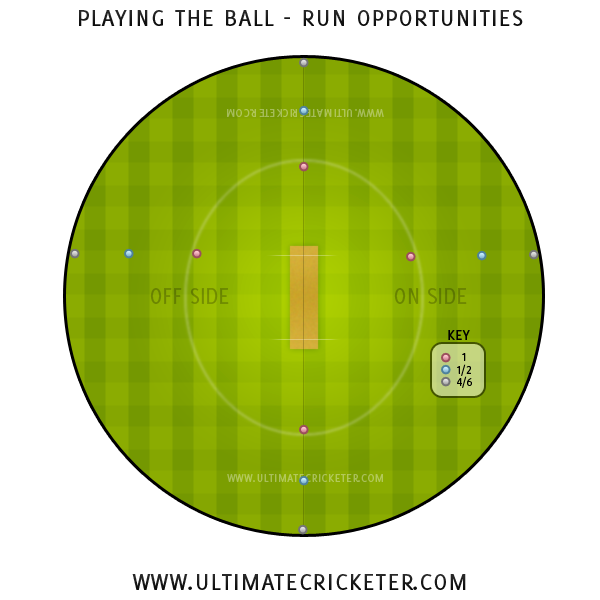 Ultimate-Cricketer-Playing-The-Ball